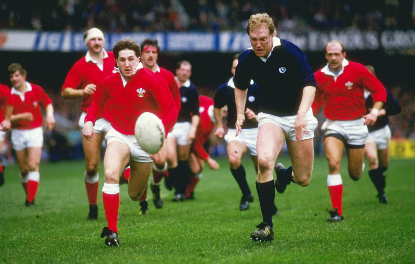 When Wales fought back against Scotland in 1988